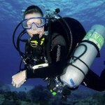 Technical Side Mount Diver